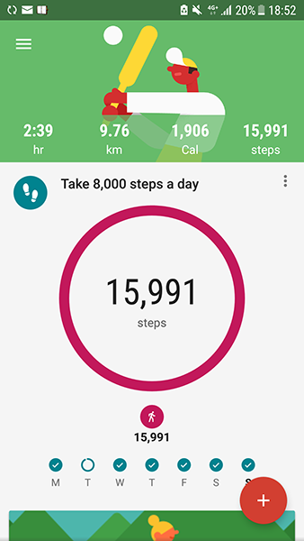 1 3 Please Make Sure The Steps Are Logged Into Google Fit