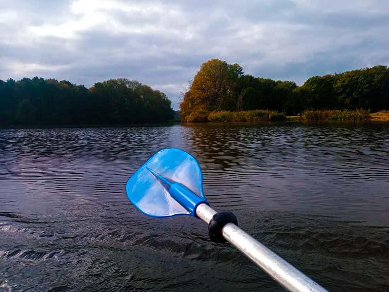 Me, paddling